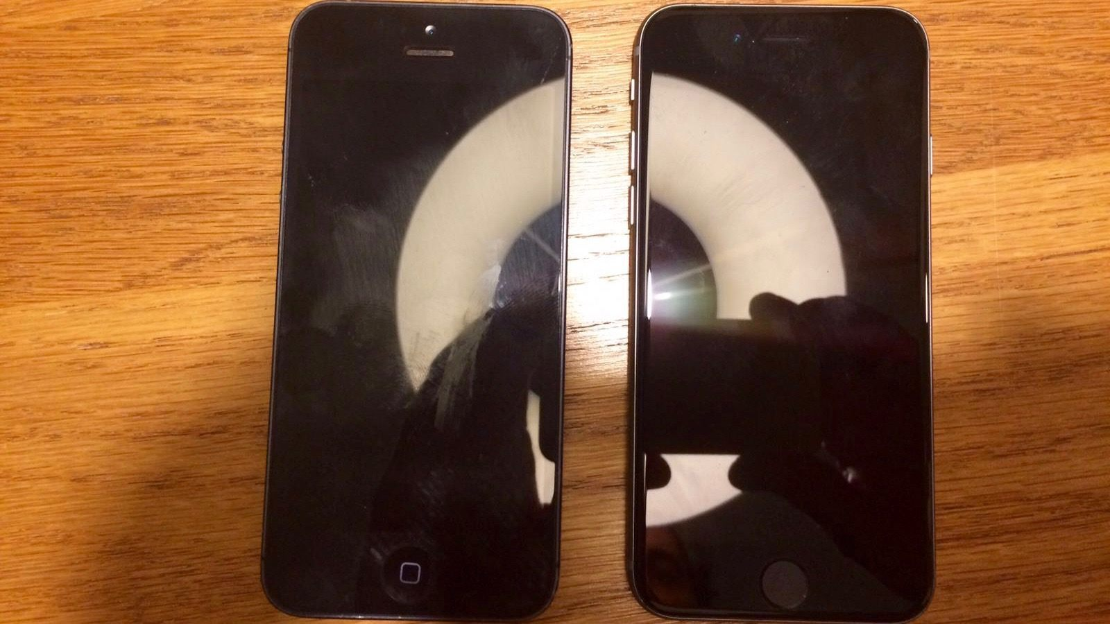 4 inç iphone