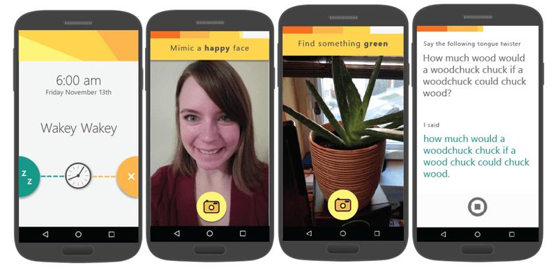 microsoft android mimicker alarm