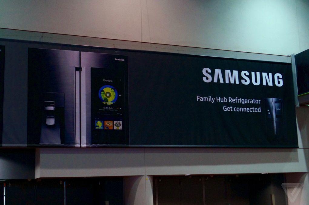 Samsung akıllı buzdolabı