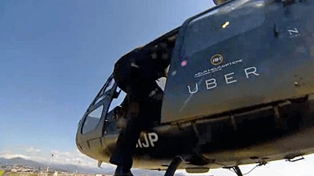 uber helikopter