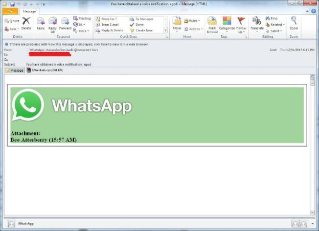 whatsapp guvenlik tehdidi