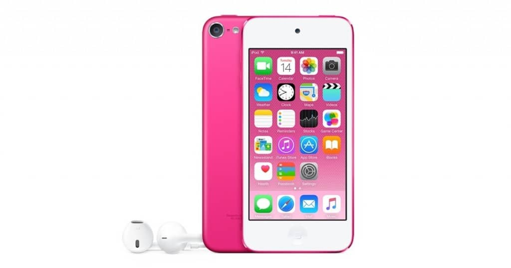 pembe ipod touch iphone 5se