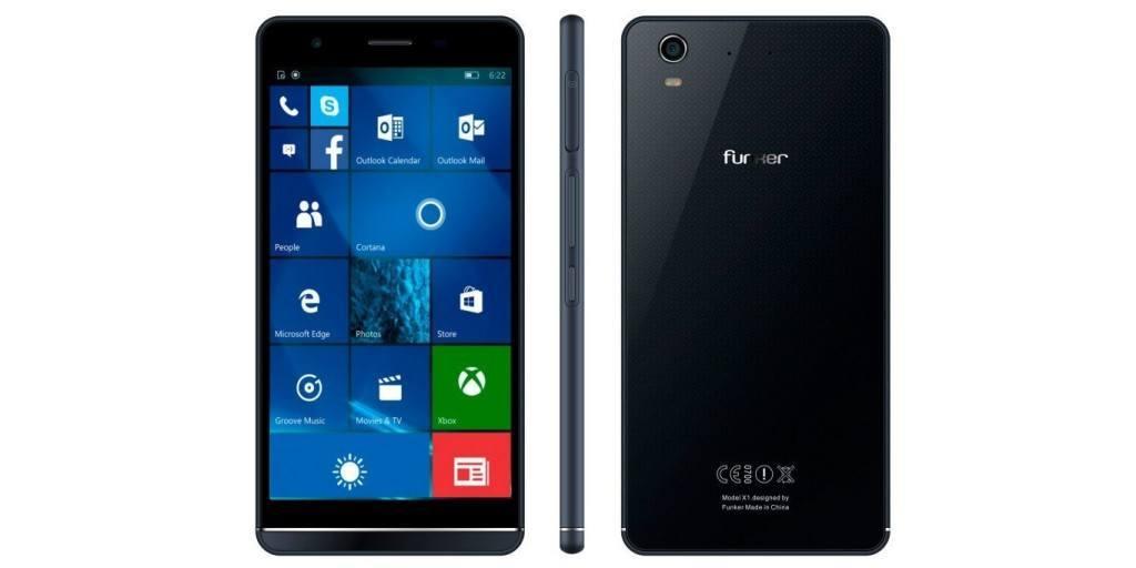 funker windows 10 mobile w5.5 pro