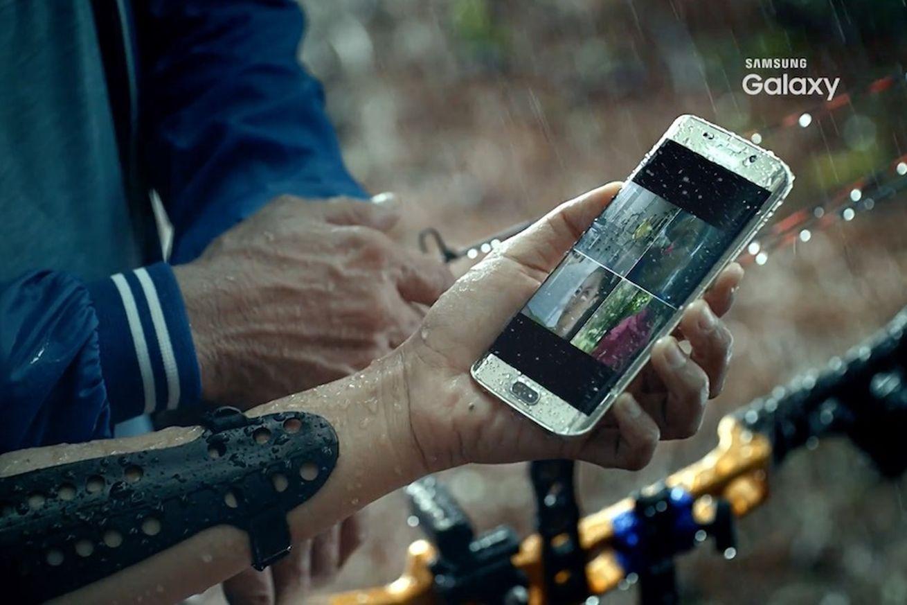 Samsung Galaxy S7 videosu suya dayanıklı olduğunu ve kablosuz şarjı doğruluyor