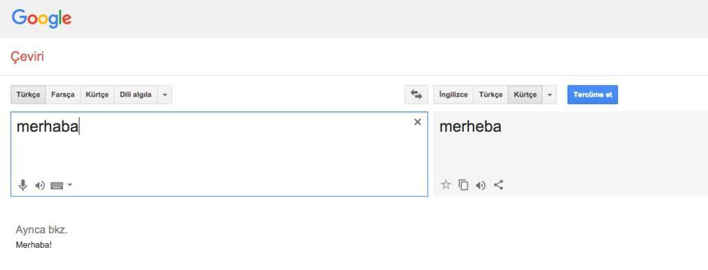 google çeviri kürtçe