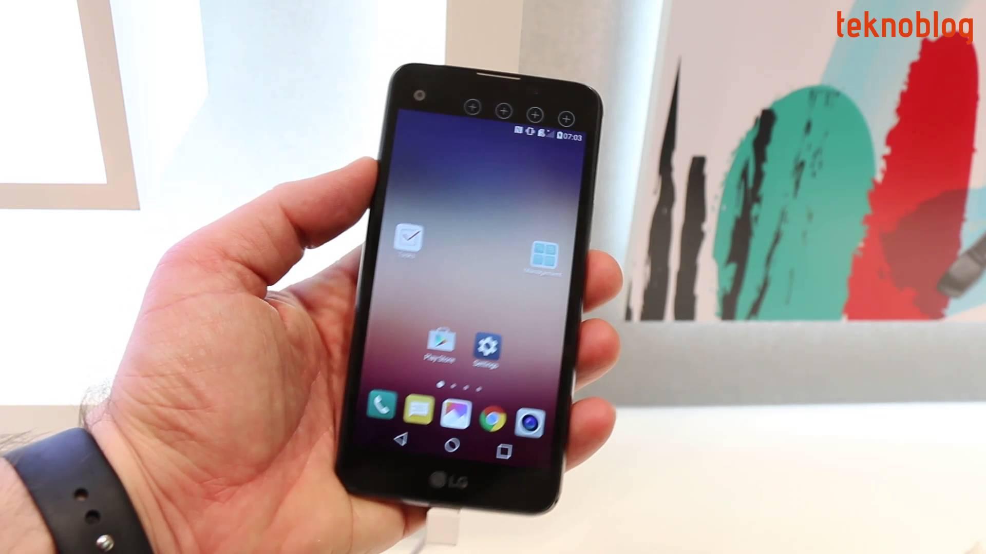LG X Screen Ön İnceleme
