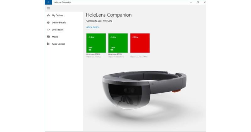 microsoft hololens windows 10 uygulama