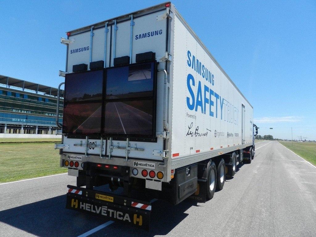 samsung guvenlik kamyonu