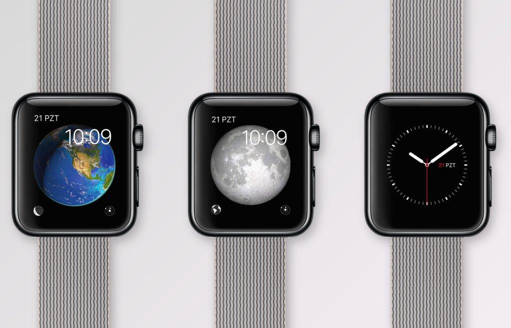 apple watch interaktif galeri
