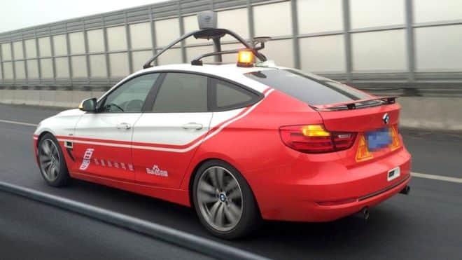 Baidu sürücüsüz otomobil testlerini ABD'ye taşıyor