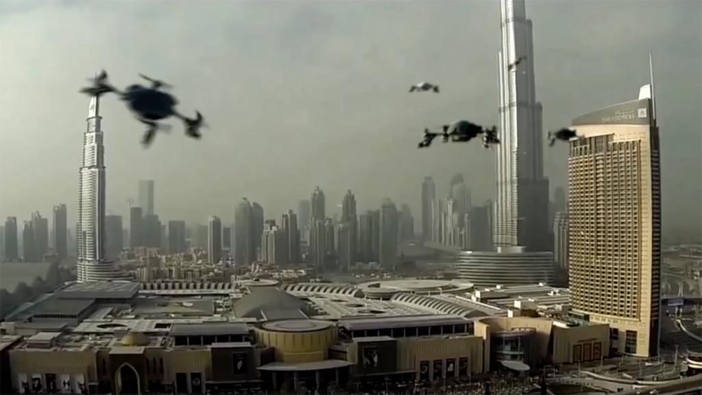 dubai drone yarışları