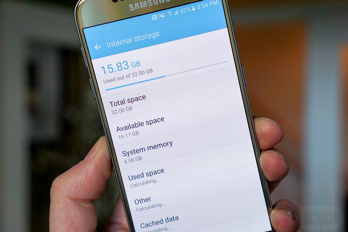 Samsung Galaxy S7'de uygulamalar microSD karta taşınabilecek