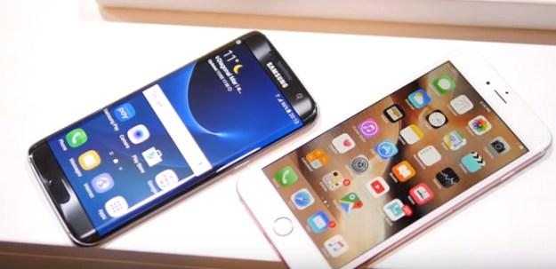 iphone 6s plus galaxy s7 edge