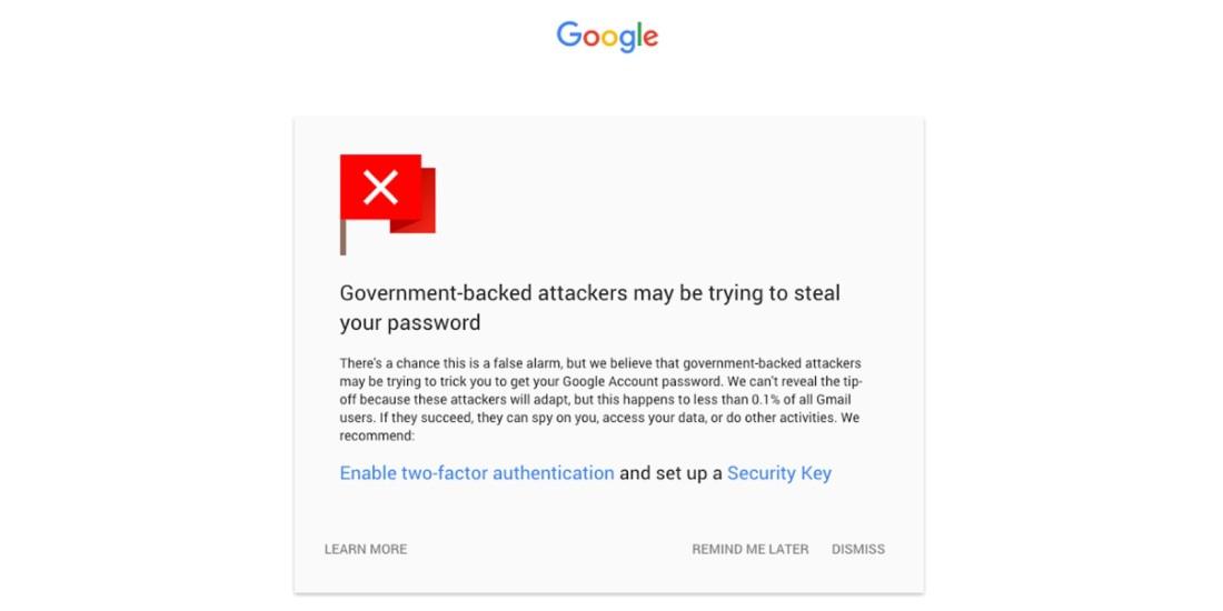 gmail güvenlik bildirimleri