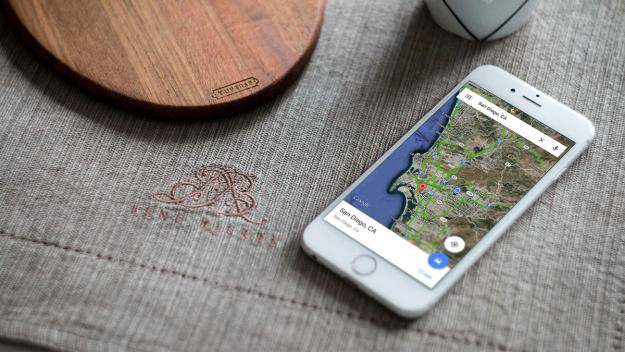 google haritalar iphone