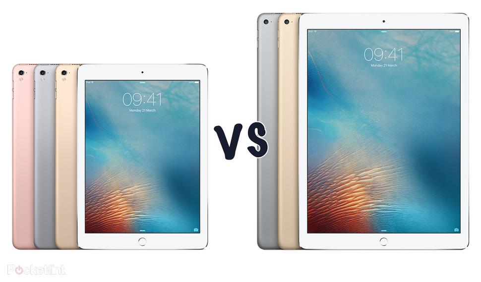 iPad Pro 9.7 - iPad Pro 12.9 karşılaştırma