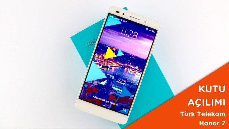 Video: Türk Telekom Honor 7 Kutusundan Çıkıyor