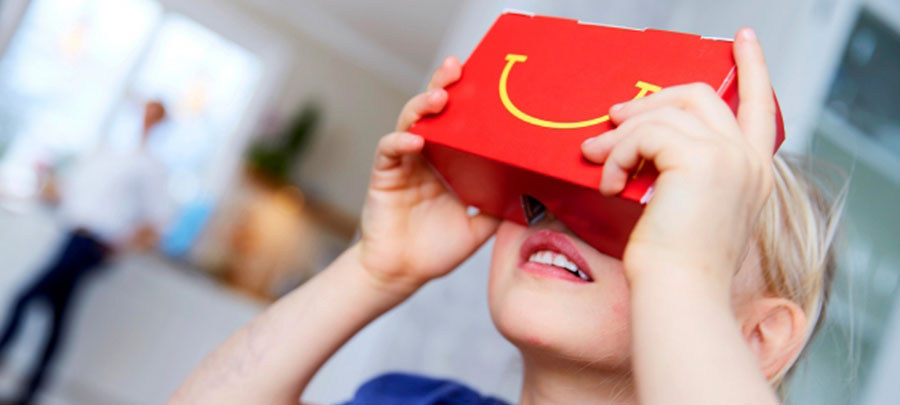 McDonald's Happy Meal Sanal Gerçeklik