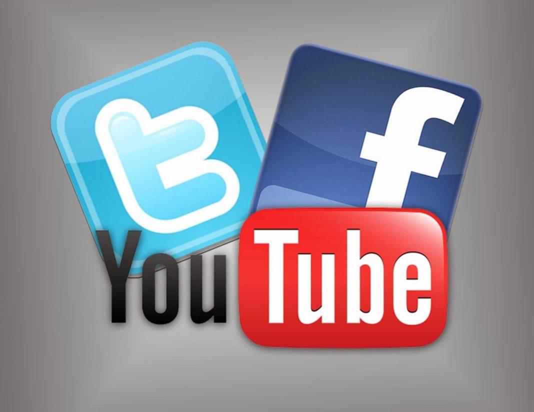 facebook twitter youtube