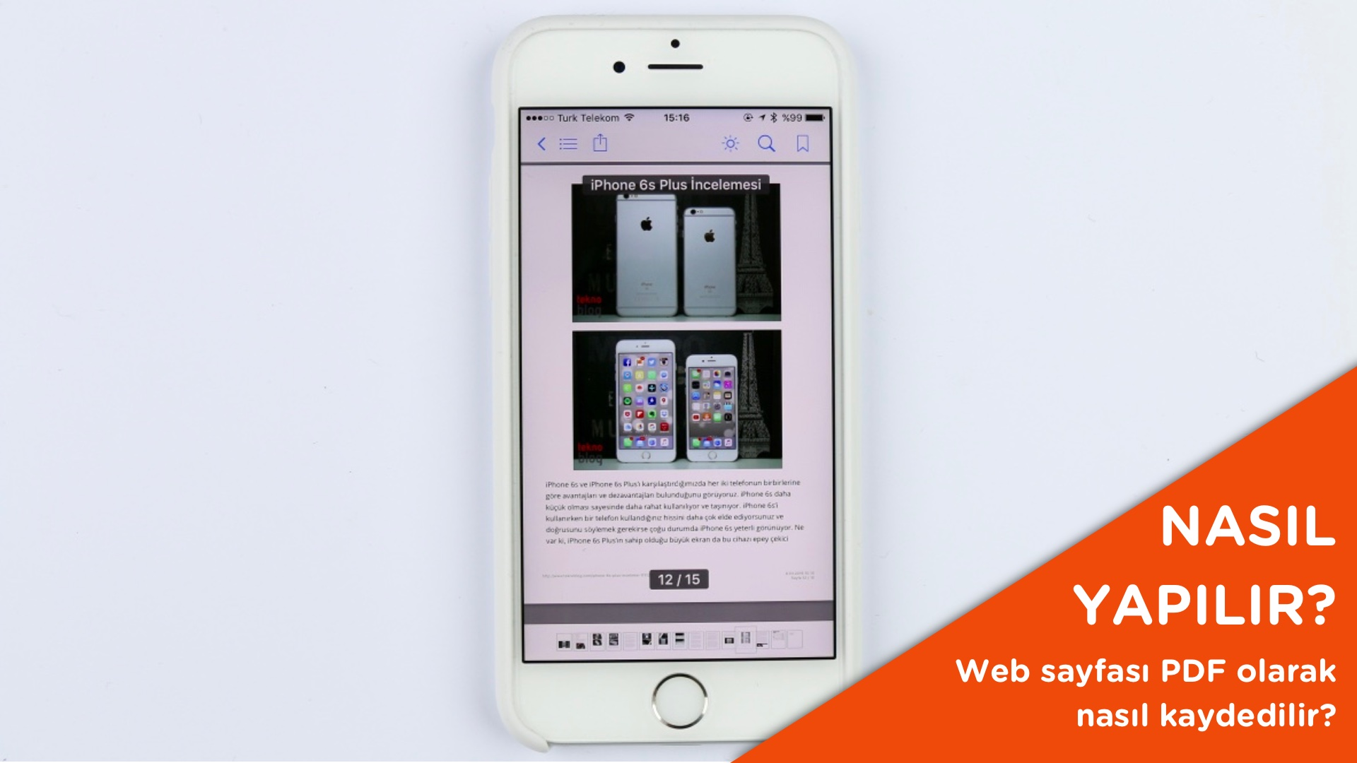 web sayfası pdf olarak kaydetme