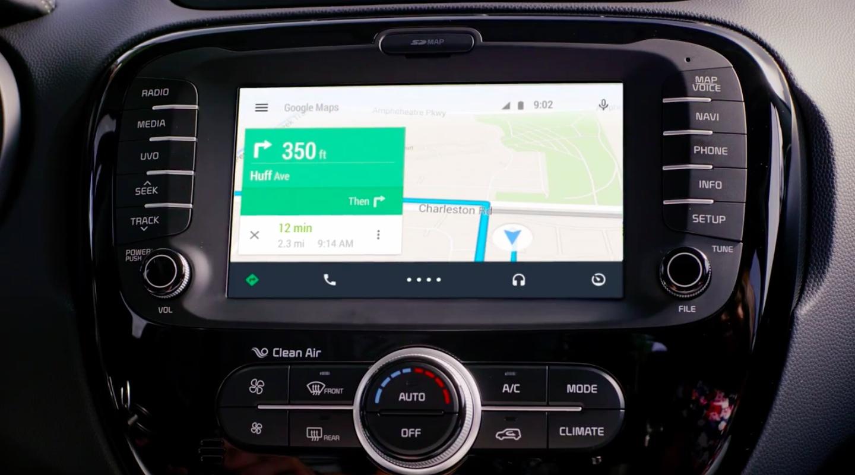 android auto ok google