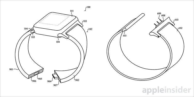 apple watch akilli kayis patent