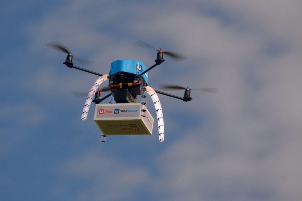 avustralya drone test