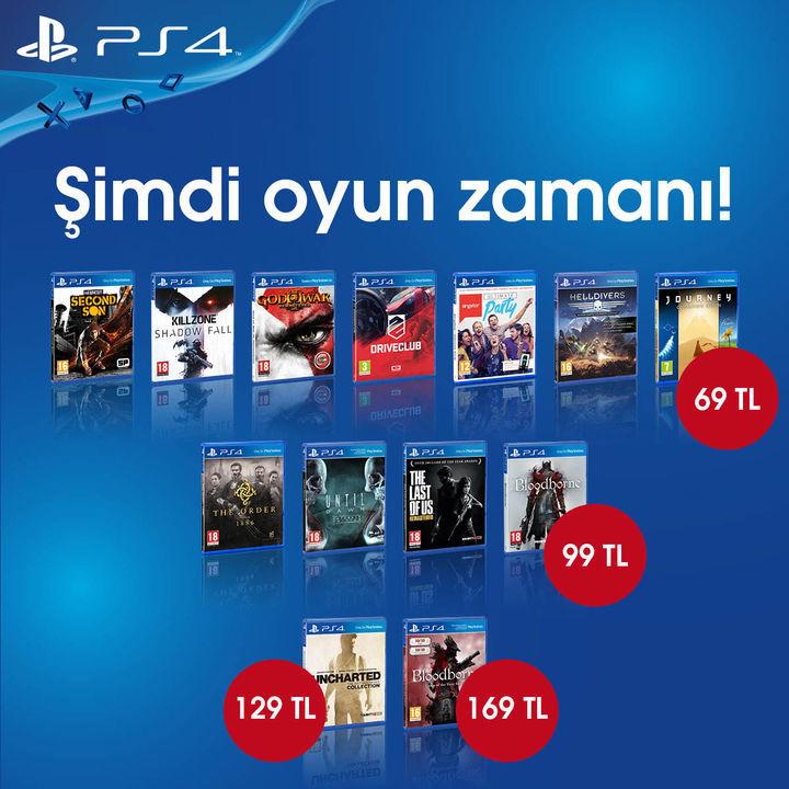 playstation 4 oyunları
