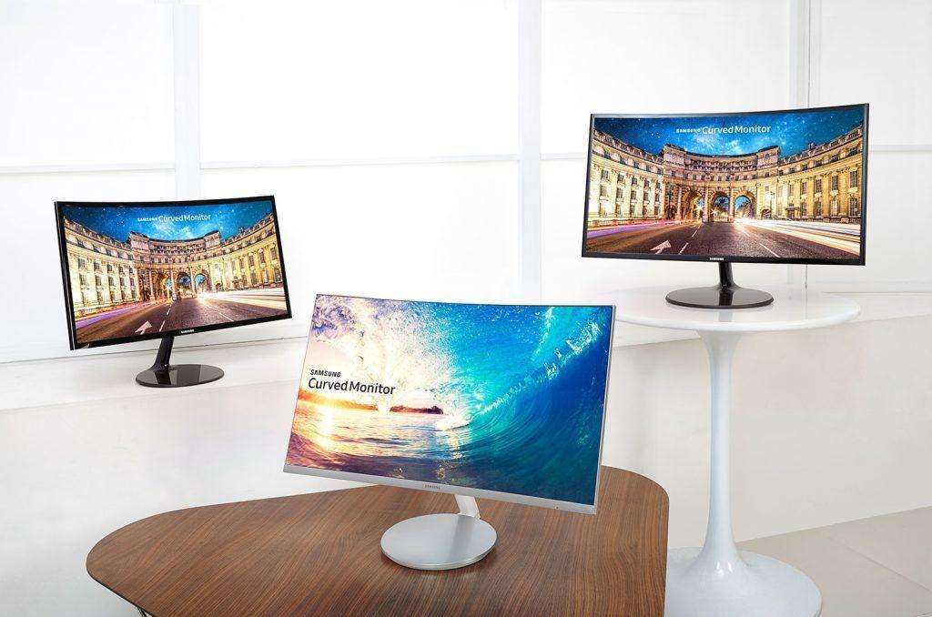 samsung kavisli monitor