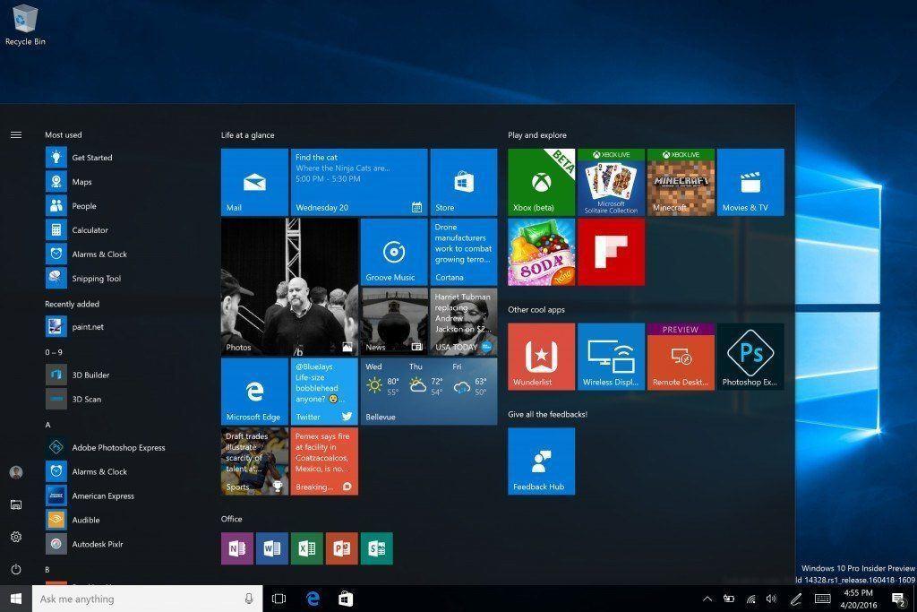 windows 10 on izleme