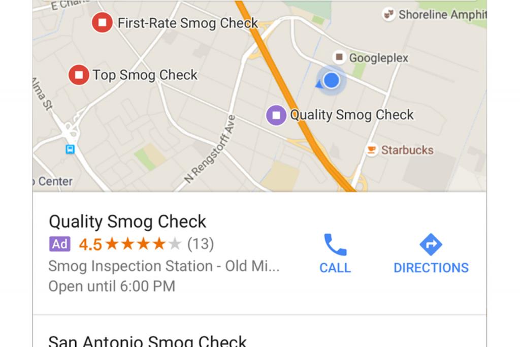 google haritalar reklam