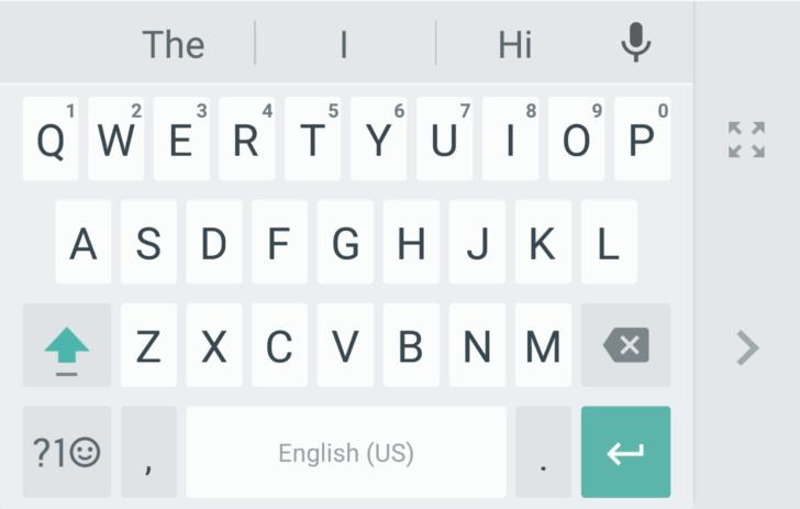google klavye android