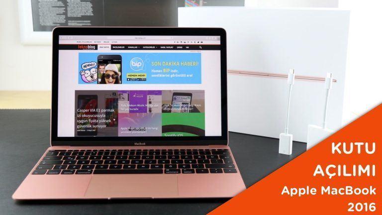 Video: Apple MacBook 2016 Kutusundan Çıkıyor