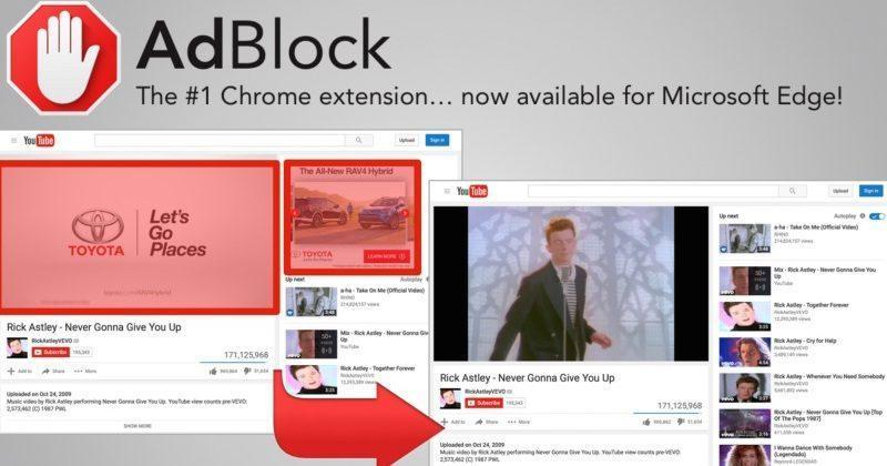 microsoft edge adblock