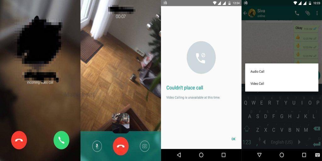 whatsapp video gorusme