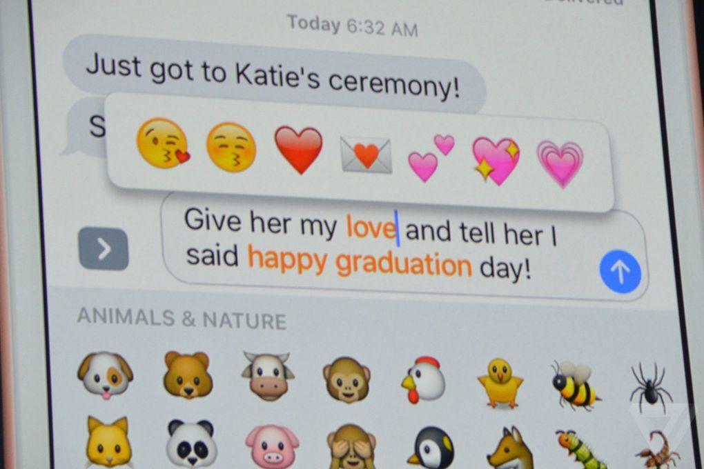 apple mesajlar ios 10