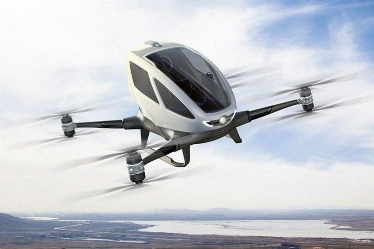 insan tasiyan drone ehang 184