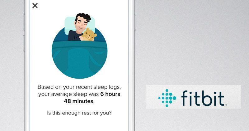 fitbit sleep schedule