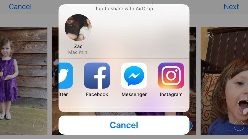 instagram iphone hizli paylasim