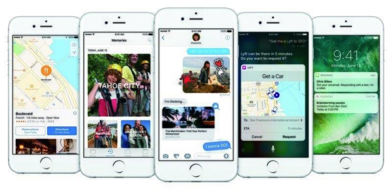 iOS 10: Zenginleştirilen kilit ekranı, tasarımları yenilenen uygulamalar