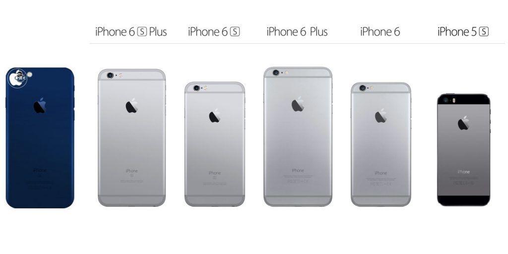 iphone 7 uzay grisi mavi