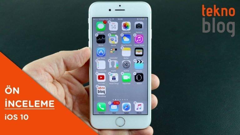 Video: iOS 10 Ön İnceleme