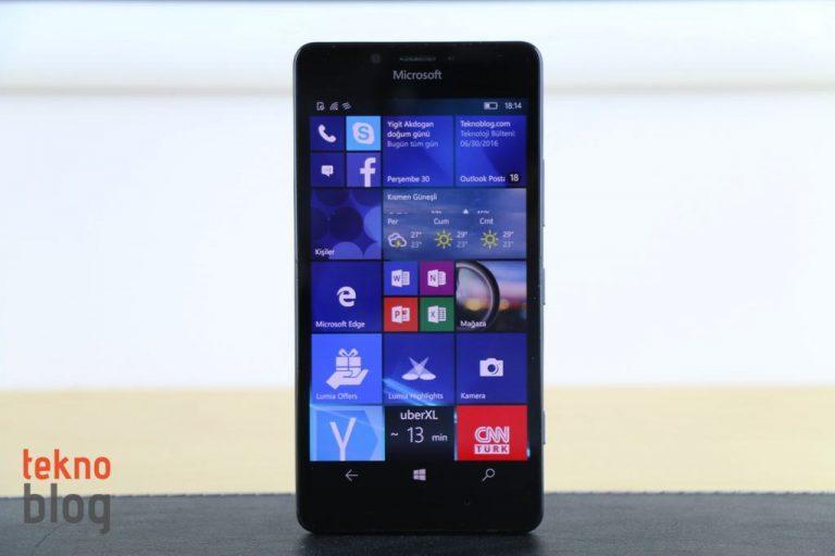 Microsoft Lumia 950 İncelemesi