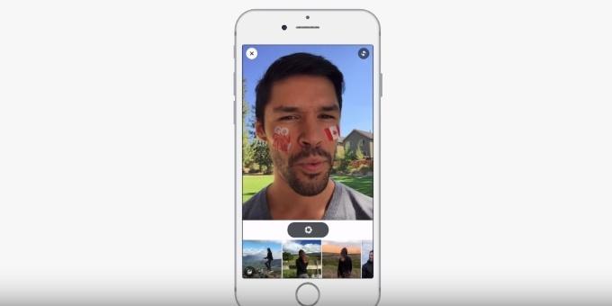 facebook selfie filtreleri