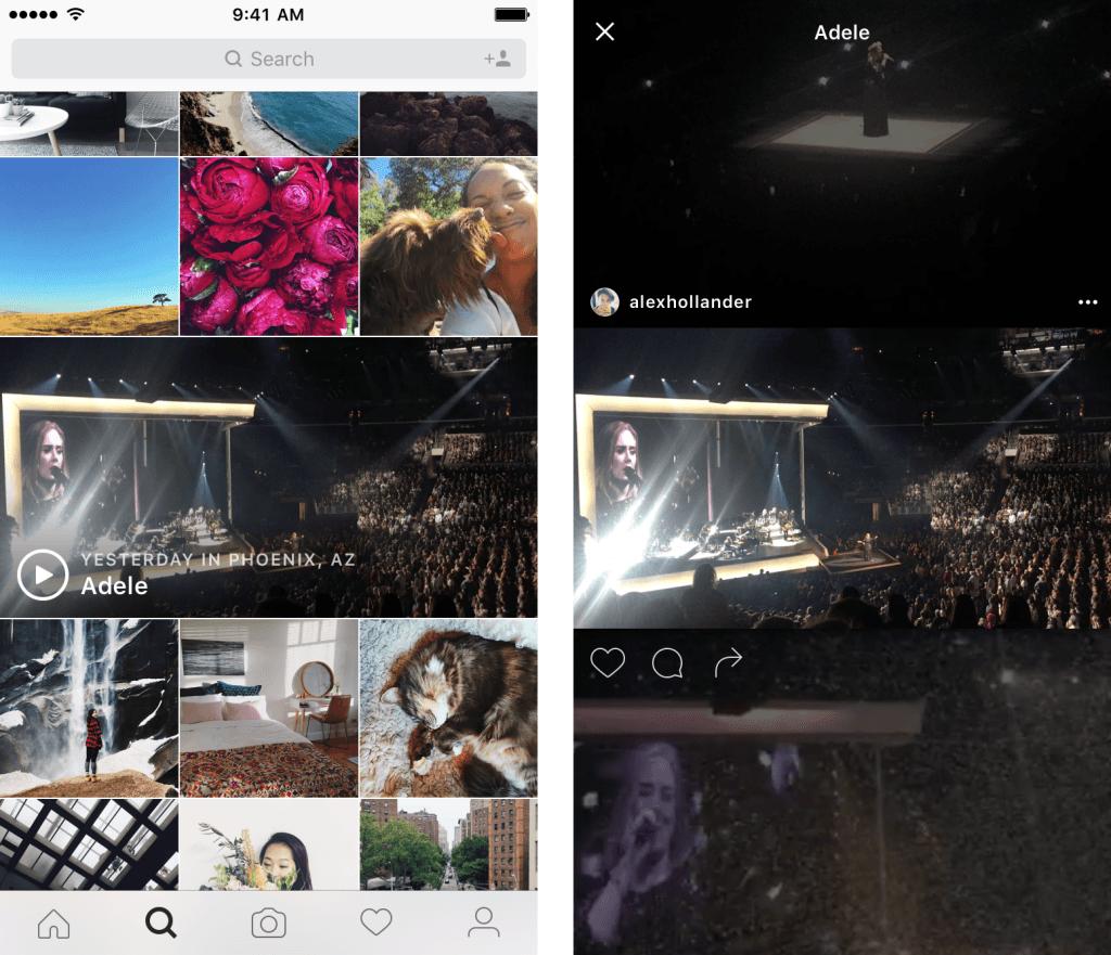 instagram kesfet etkinlik