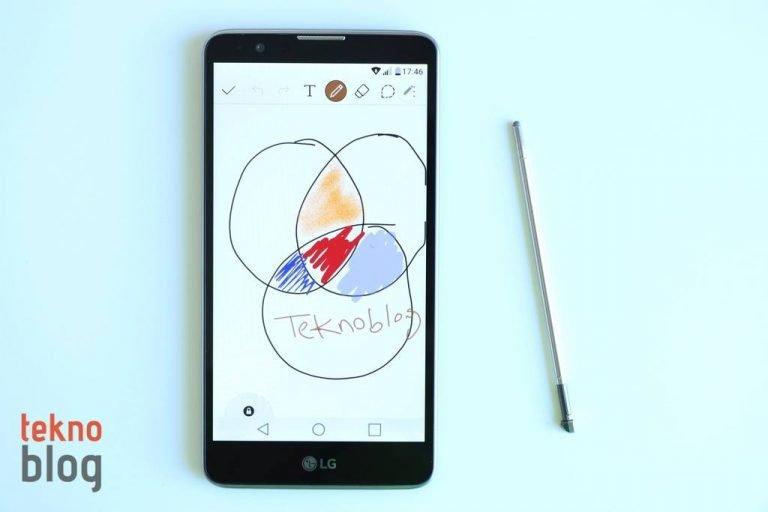 LG Stylus 2 İncelemesi