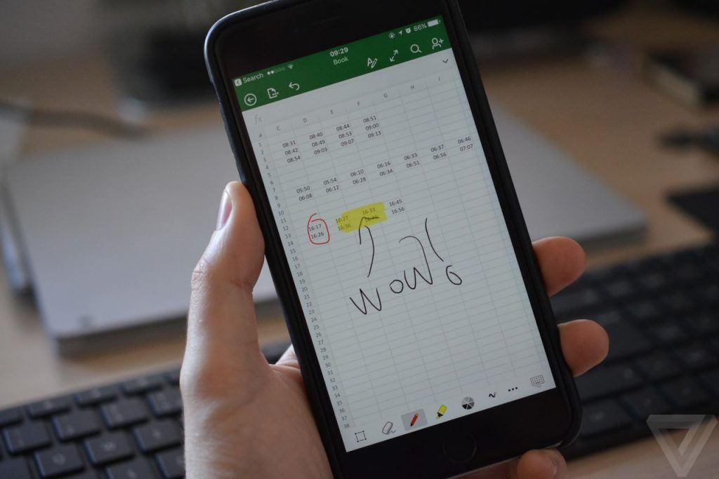microsoft office iphone