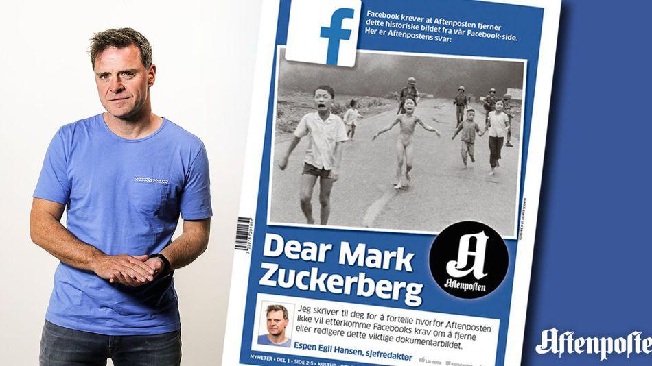 aftenposten facebook mark zuckerberg