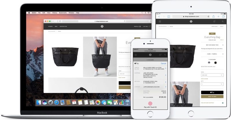 apple pay web