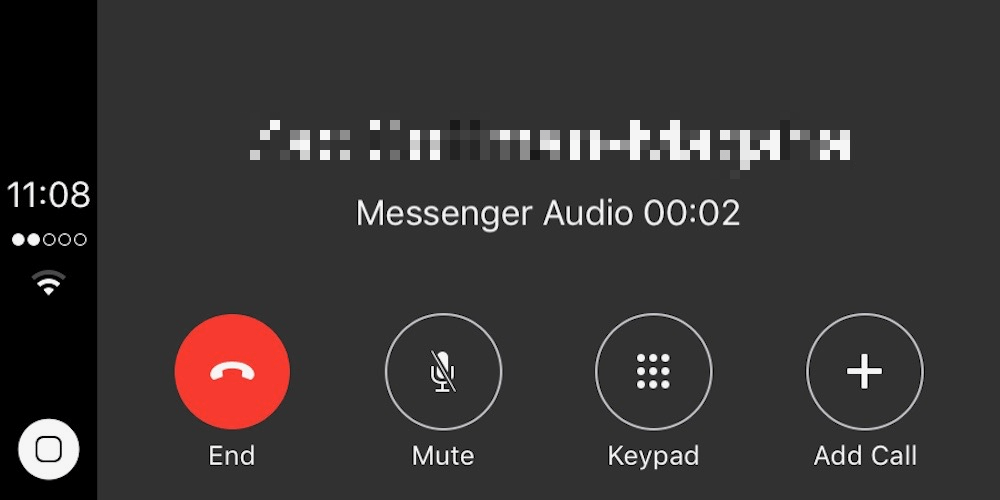 facebook messenger callkit